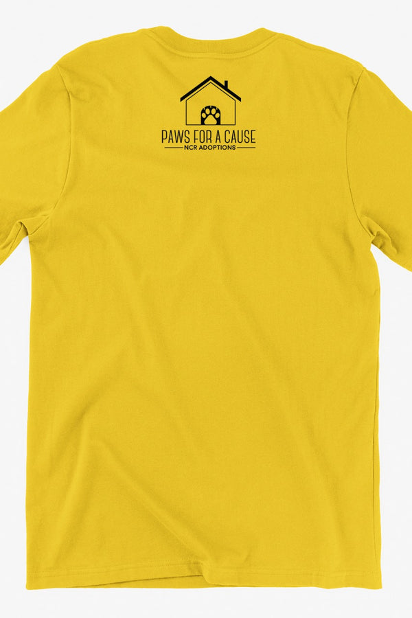 Circle of joy Yellow Tshirt