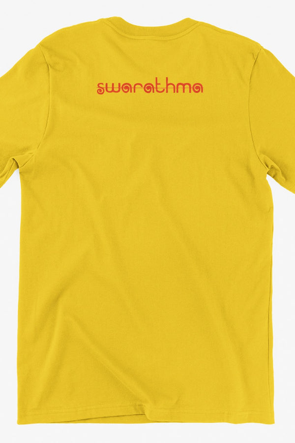 Mushkil Mein Jeena Girl Graphic Yellow Tshirt