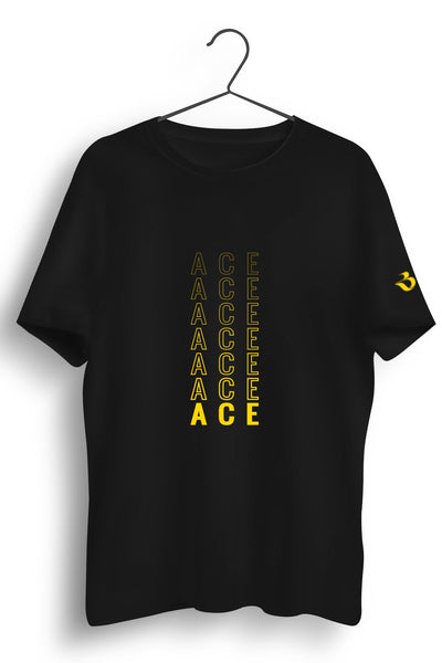 Ace Graphic Printed Tshirt