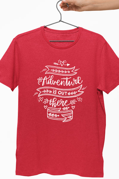 Adventure Out There Red Tshirt