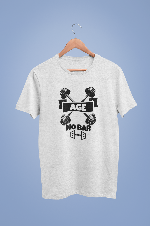 Age No Bar White Tshirt