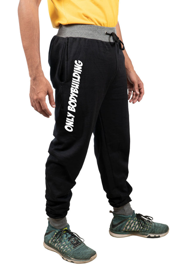 Only Body Building Black Joggers
