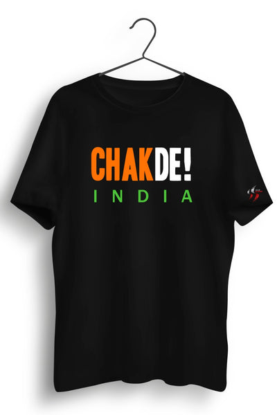 Chak De India Black Tshirt