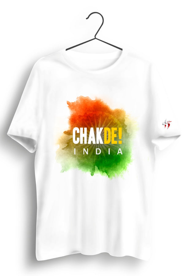 Chak De India White Tshirt
