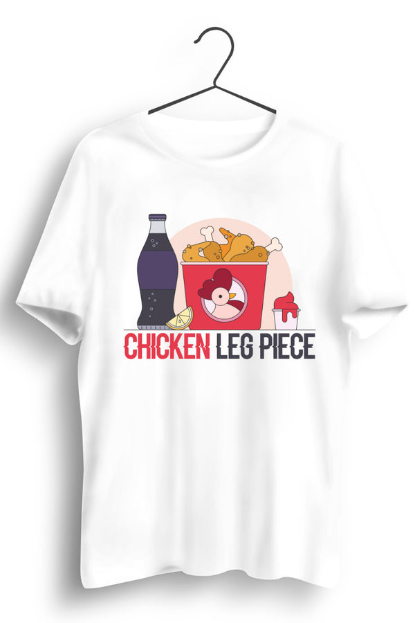 Chicken Combo White Tshirt