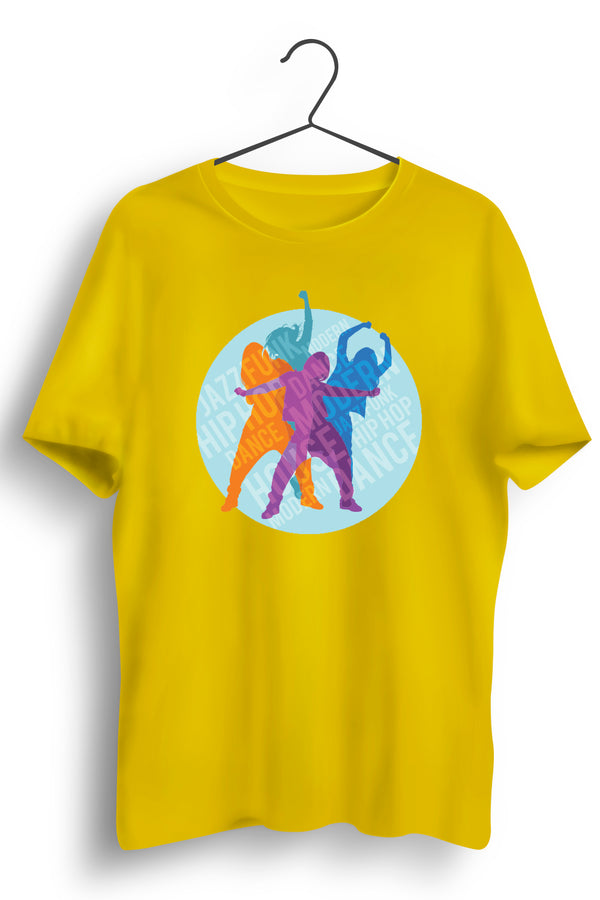 Funky Dance Yellow Tshirt