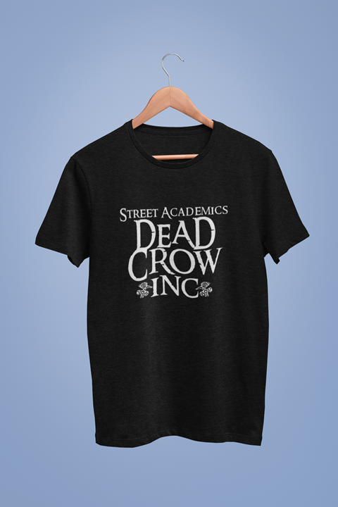Dead Crow Inc Graphic Black Tshirt