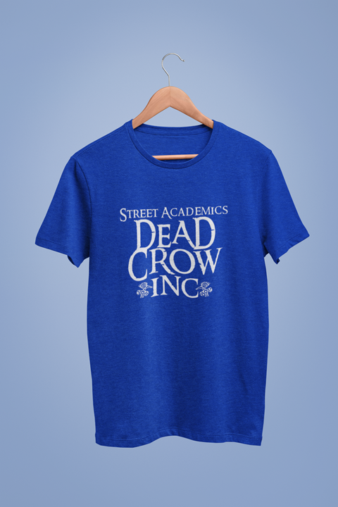 Dead Crow Inc Graphic Blue Tshirt