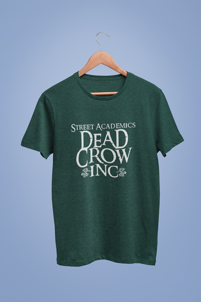 Dead Crow Inc Graphic Green Tshirt