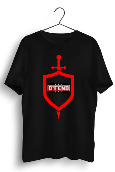 DFend - Tribute To Our Protectors Black Tshirt