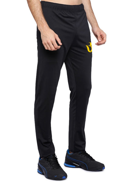 Athletic Black Track Pant