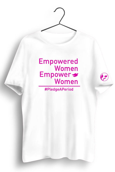 Empower Women White Tshirt