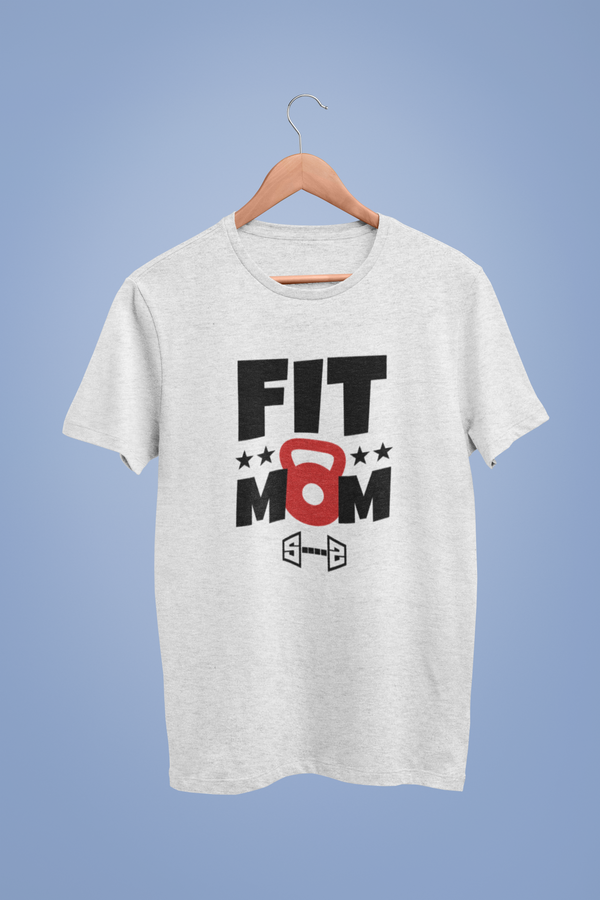 Fit Mom White Tshirt