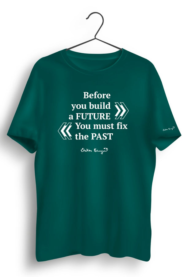 Future Past Graphic Printed Tshirt