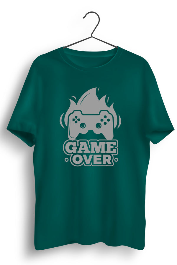 Game Over Green Tshirt