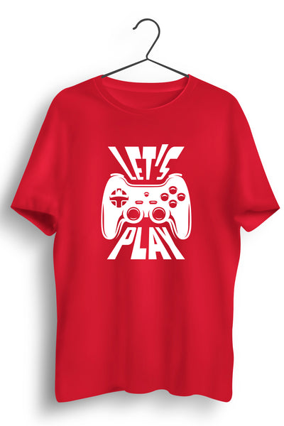 Lets Play Red Tshirt