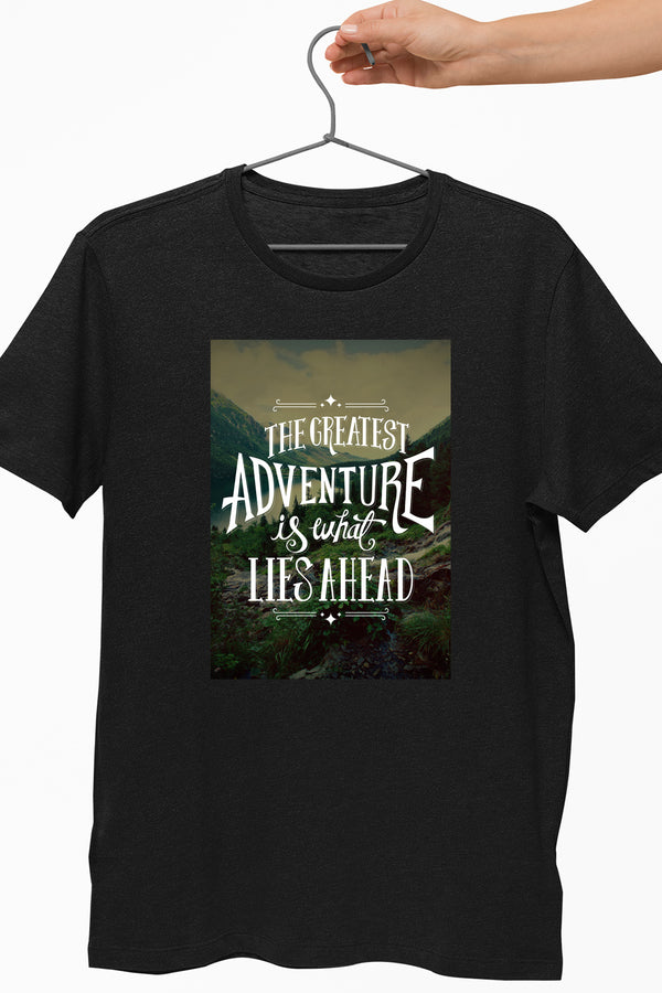 Greatest Adventure Black Tshirt