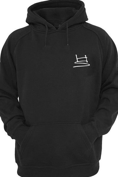 Humanity Religion Graphic Printed Black Hoodie