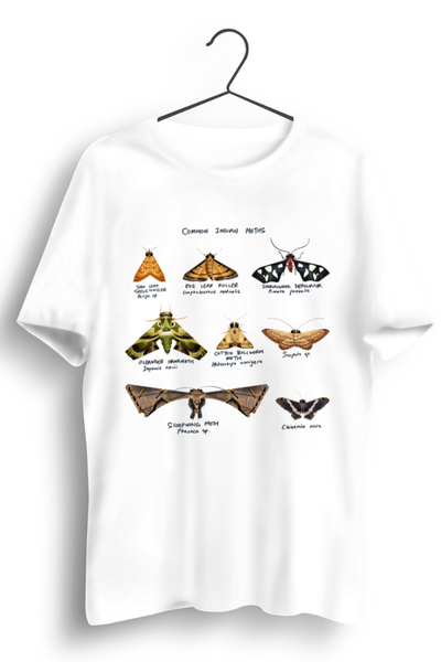 Indian Moths White Tshirt