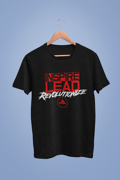 Underground Authority Inspire Lead Revolutionize T-Shirt Black