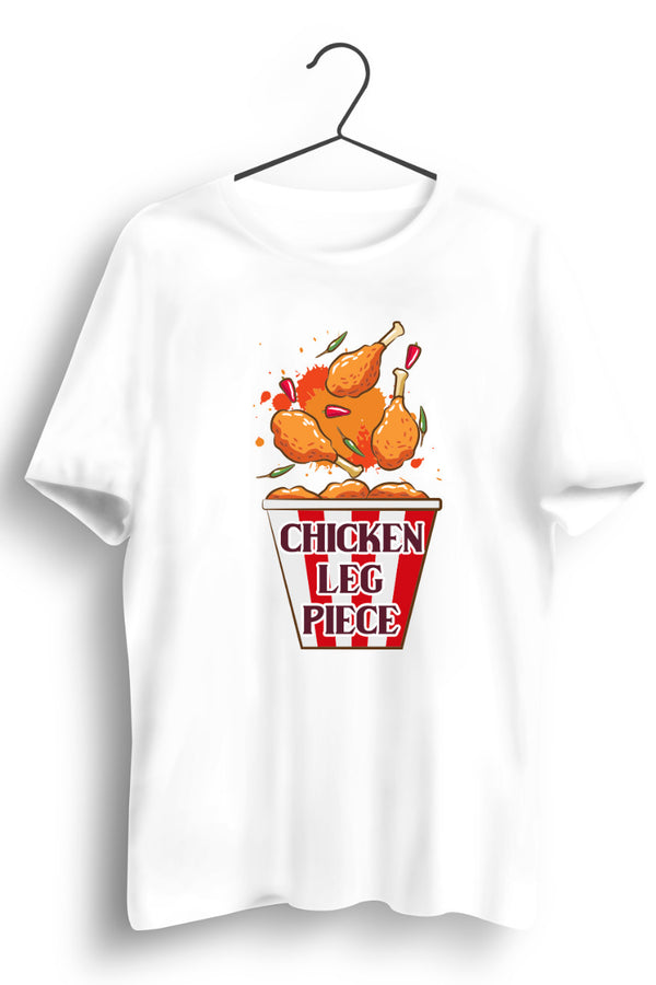 Chicken Bucket White Tshirt