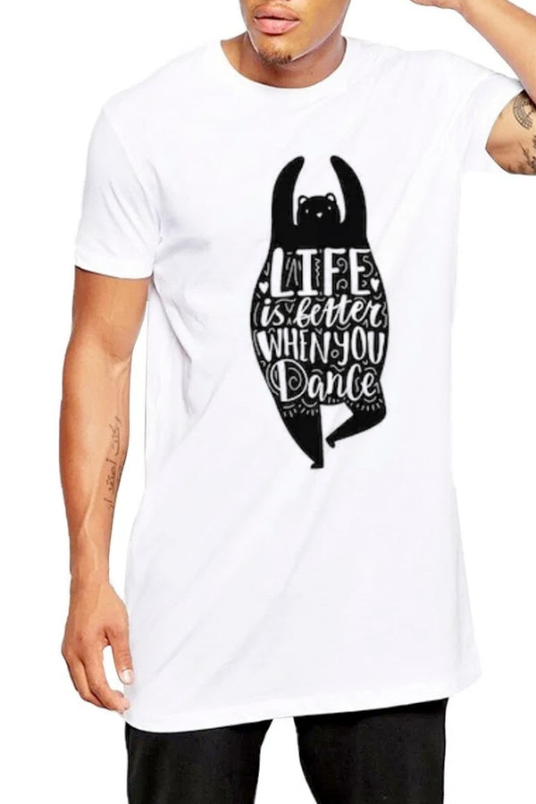 Life Is Better When You Dance White Tshirt