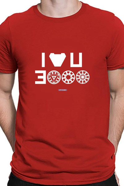 I Love You 3000 - Epic Endgame Dialogue - Red Casual T Shirt