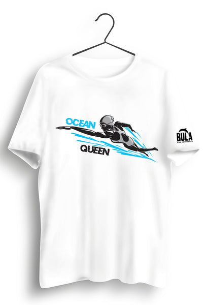 Ocean Queen White Tshirt