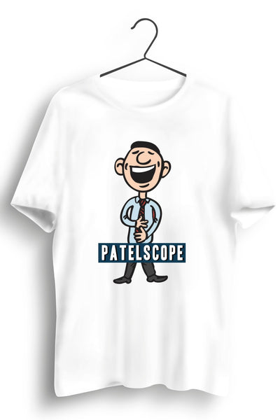 Patelscope Laughing Man White Tshirt