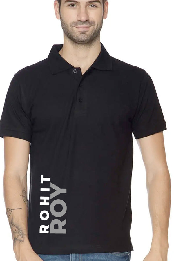 Rohit Roy Black Premium Polo