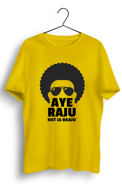 Hat Ja Baaju Yellow Tshirt