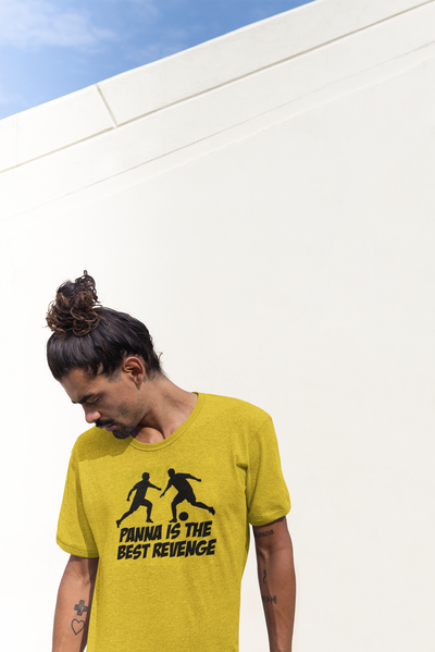Panna is the Best Revenge Yellow Graphic Tshirt