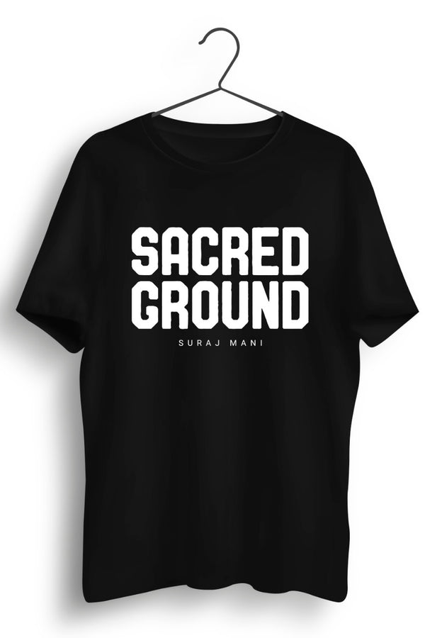 Sacred Ground Black Tshirt