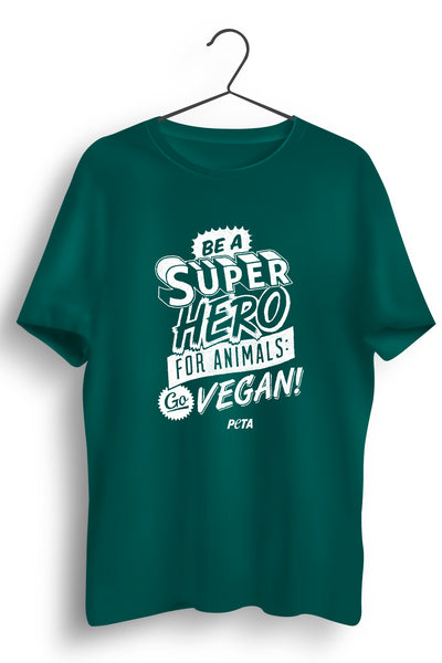 Superhero for Animals Green Tshirt