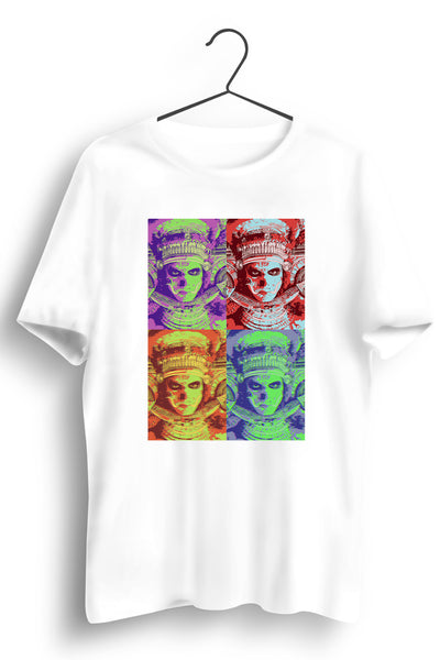 Theyyam Collage White Tshirt