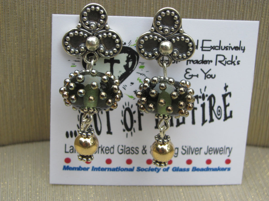 Lavish Love Lampglass Post Earrings
