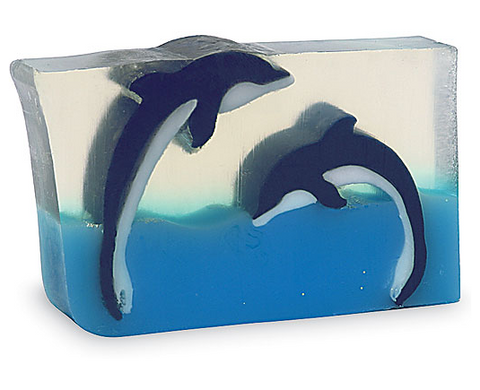 Dueling Dolphins soap