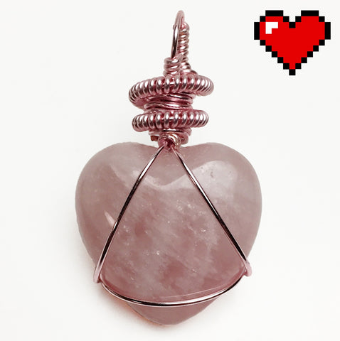 "Rose Quartz ""The Heart"""