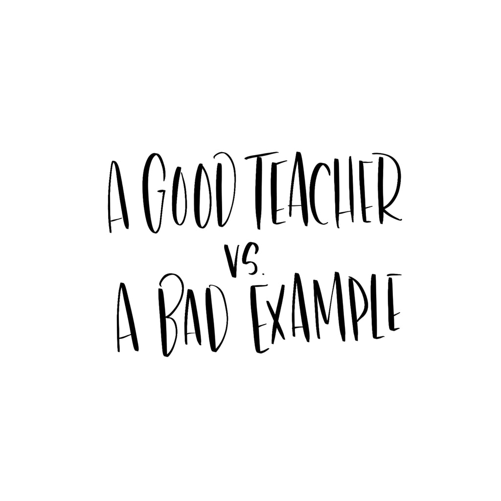 A GOOD TEACHER?