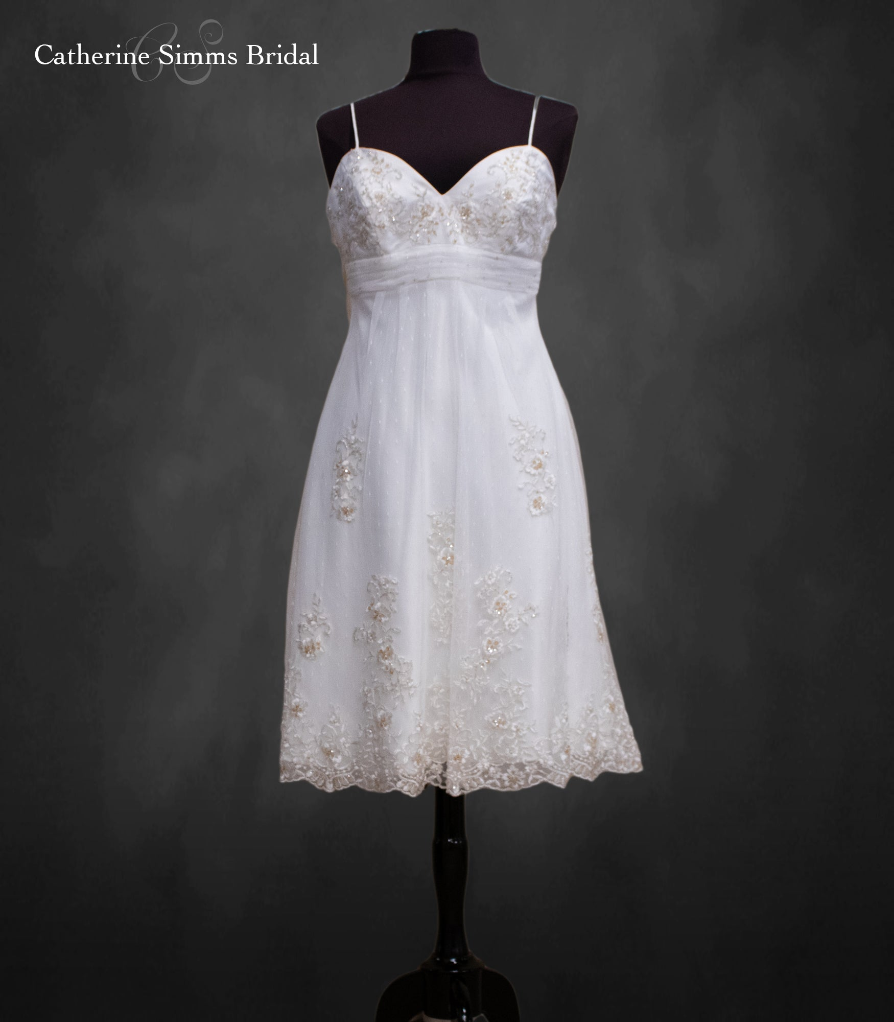 ALFRED ANGELO Lace Empire