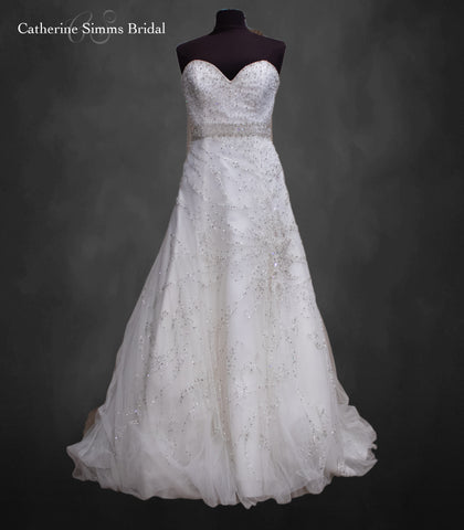 DEMITRIOS Beaded Tulle