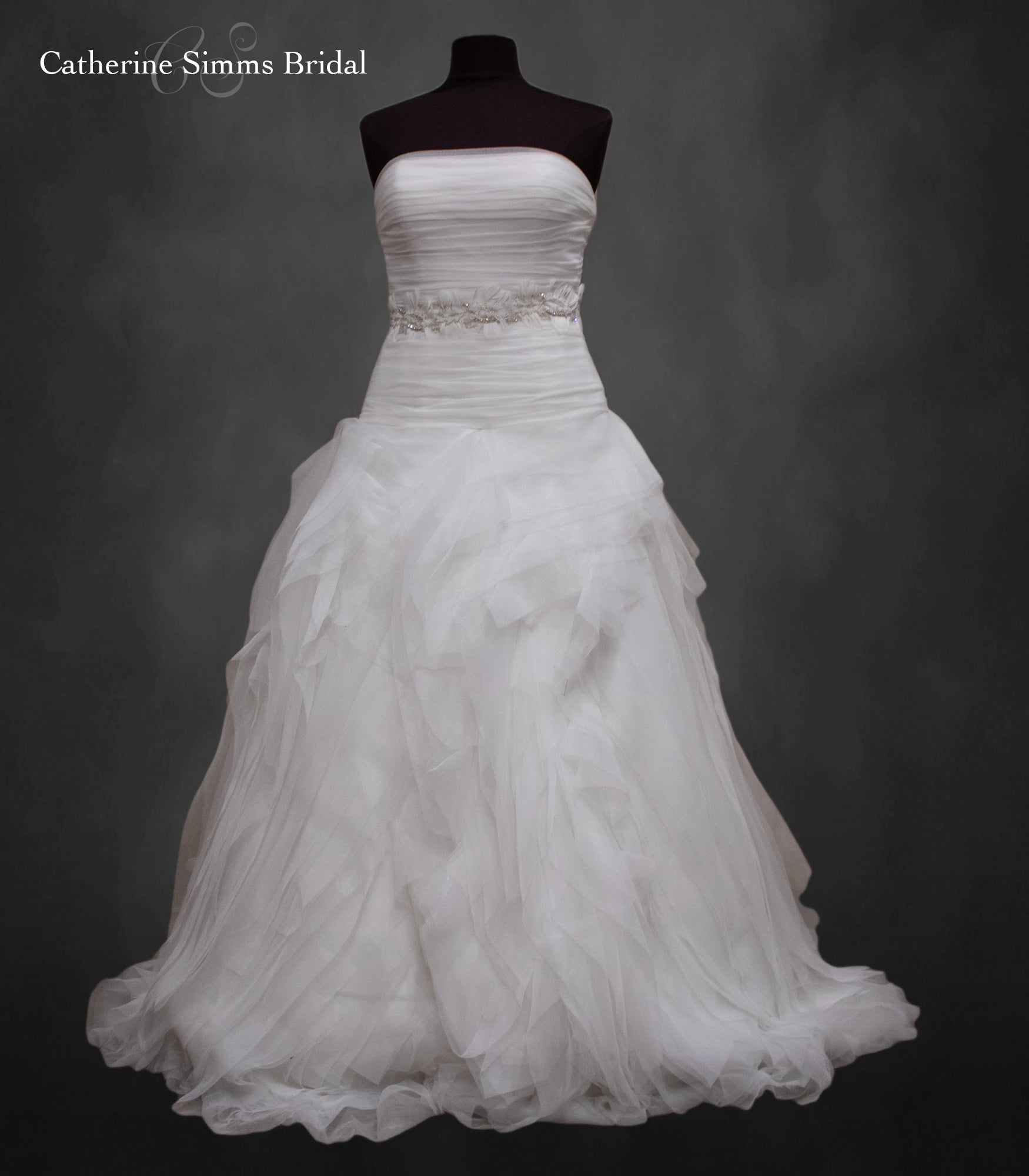 Pronovias Ruffled