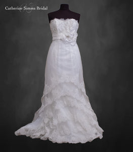 Sottero short layered