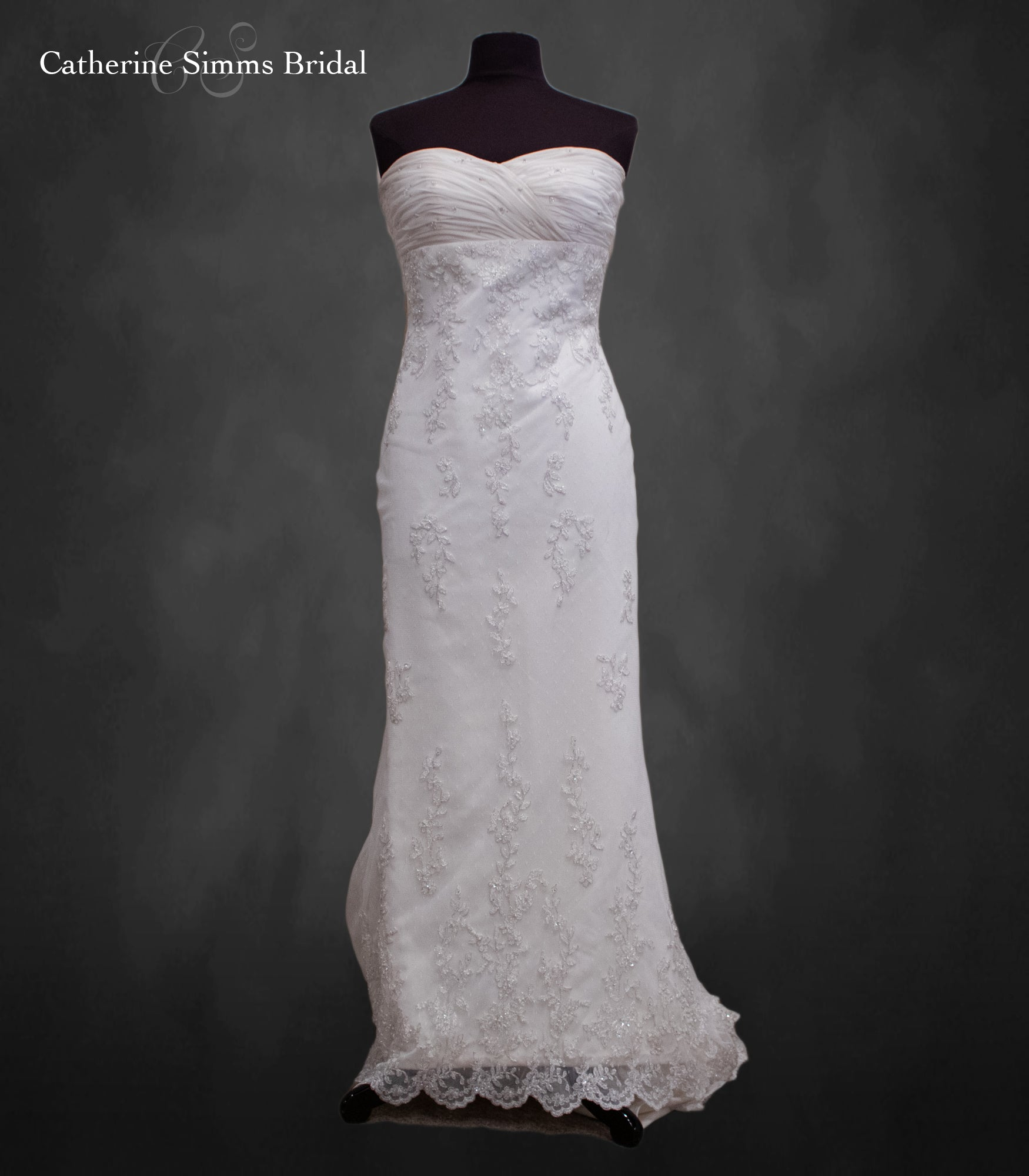Lace Overlay Sheath