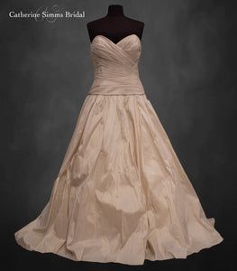Cafe ruched ballgown