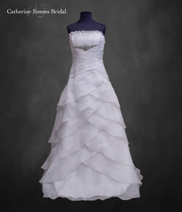 Ruffled Rosaline Gown