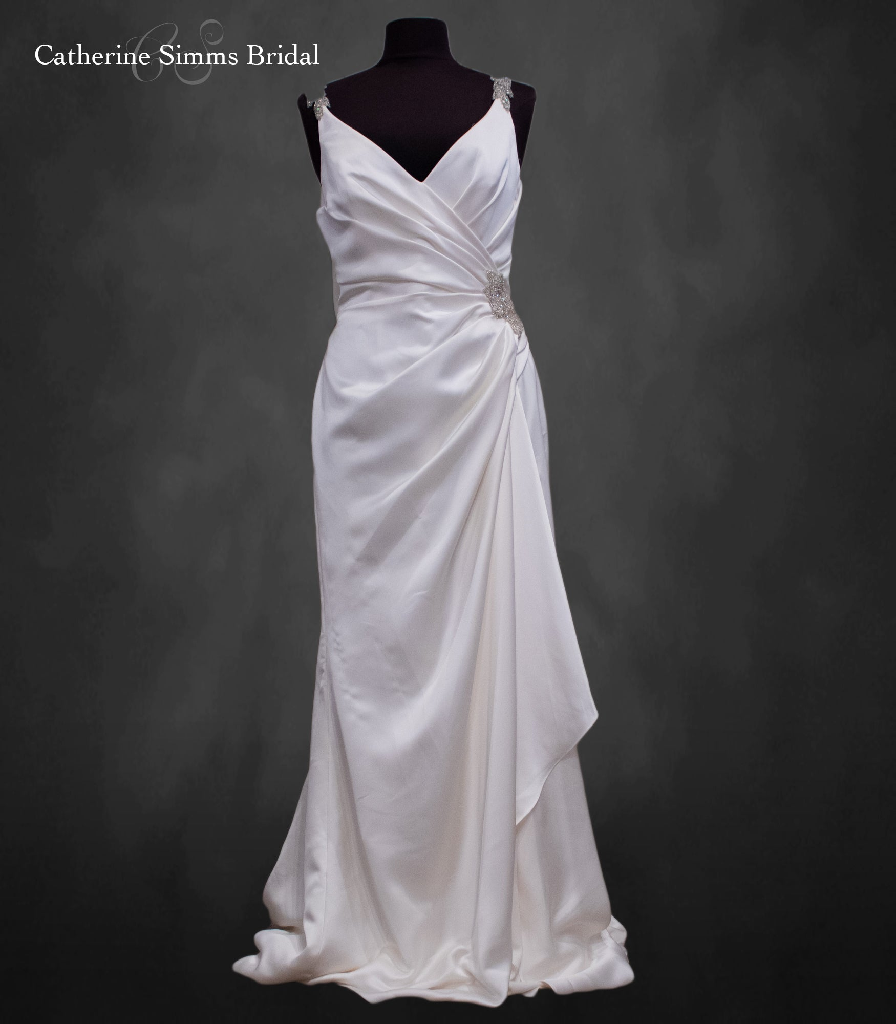 Cream Flow Gown