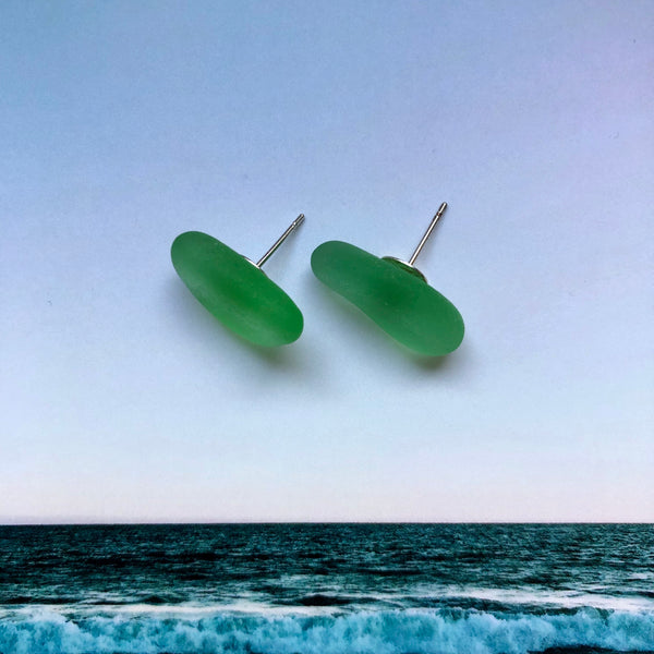 Sea Glass - Mermaid Tears Earrings