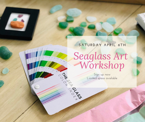 Love Birds - Miniature Seaglass Art Workshop