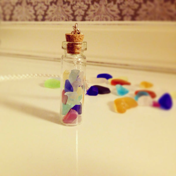 Seaglass  Treasure  Necklace